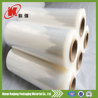 Transparent color plastic stretch film in jumbo roll