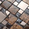 high quality square grid handbag shape silicone cake mold for paving mosaic
