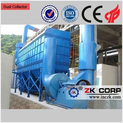Dust Extraction Filter For Lime Plant