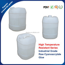 Barrel Packed High Temperature Resistant Clear Cyanoacrylate Super Raw Glue