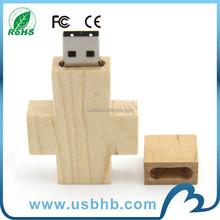 Metal USB cross/ wood cross usb memory stick /cross usb memory