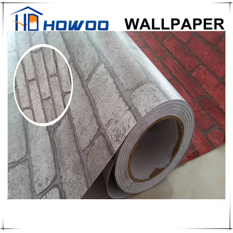 Howoo Modern Self Adhesive 3d Stone Wallpaper For Living