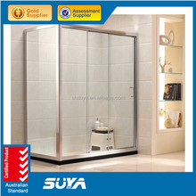 Large size 120x80cm tray sliding door shower rooms cabins