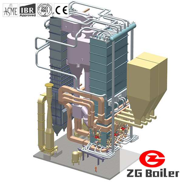 Cfb Coal Fired Power Station Power Plant Boiler For Electricity ...