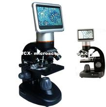 "WCX-120 40x-2400x LCD digital microscope with 5.0MP camera and 4.3"" touch WCXreen"