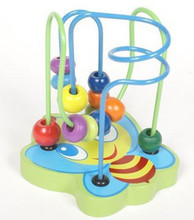 Abeja de madera de juguete bolas laberinto de juguete para niños juguetes educativos