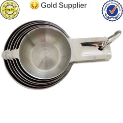 cool design wedding gift stainless steel measuring cup for baking cooking
