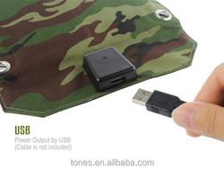 TONES digital solar charger for mobile phone/power bank
