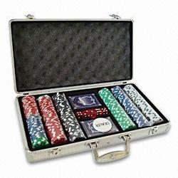 Poker Chip Set,poker chips aluminum case,casino poker chips