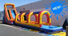 GUTEFUN block parties cartoon inflatable slide