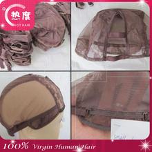 Black U-part Left/ Right/ Centre, Size L/ M/ S U part wig Cap High quality mesh stretch adjustable U part wig caps with combs