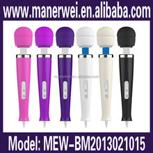 Different color available female g-spot shenzhen perfect touch av sexy massager