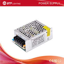 5V 3A 15W Iron led power supply for led strip