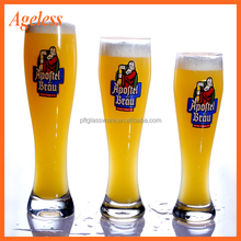 China factory wholesale custom Hihg quality beer glass drinking glass/beer mugs
