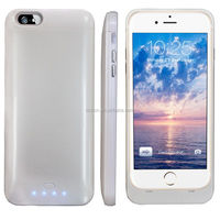 MFi Certified Cell Phone External Power Bank Case for iphone6 or iphone6 plus