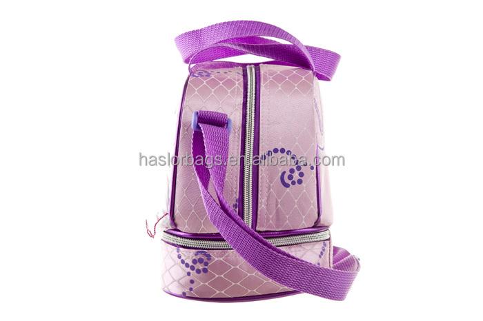 Mignon refroidisseur shouler sac à Lunch avec séparateur pour filles