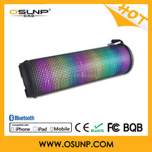 online shopping mini bluetooth LED lighting speaker with CE Rohs listed bulk buy from China