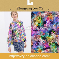 Bulk sale great material shaoxing manufacturer printed polyester cotton fabrics