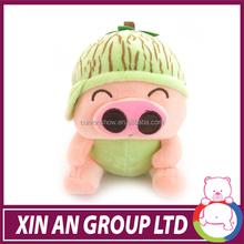 plush animal shape toy pp cotton plush toy pig soft toy pig