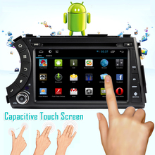 Android 4.4 car DVD player with GPS WIFI 3D UI DVR Radio Bluetooth USB SD card for Ssangyong Actyon