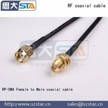 RP-SMA Male to Female coaxial cable
