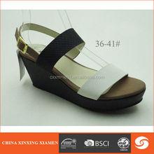 woman sandal for 2014 peep toe