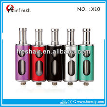 2014 wholesale X10 atomizer for e cigarette with cheap price