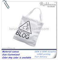 promotional 10oz cotton canvas tote bag
