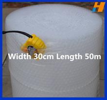 Width 30cm Length 150ft Feet Small Air Bubble Roll Film