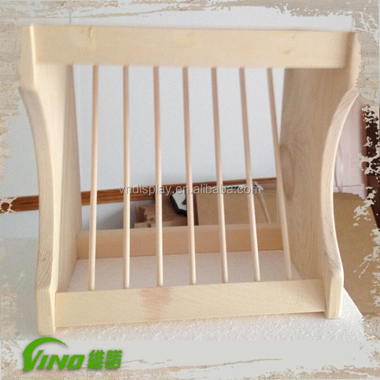 Küche Holz Arbeitsplatte Display Regal für Platten Stehen Racks ...