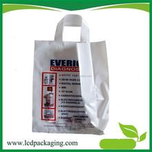 Factory price plastic bag food vacuum sealer with soft loop handle