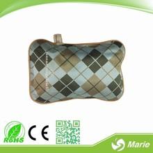 CE& rohs certificati forma cuscino borsa acqua calda elettrica/mano scaldino elettrico
