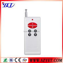 433.92MHz learning code EV1527 universal remote control, garage remotes