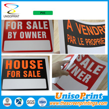 Die-cutting pvc printing /sintra board signs
