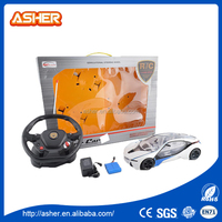 0012900017 1:14 STEERING WHEEL REMOTE CONTROL CAR Famous brand powerful white rc car 1/5 gasoline