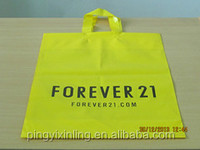 Shopping Die Cut Handle Plastic Bag with your logo