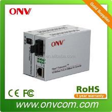 100,1000M 2U Racks Network management fiber media converter for Tele-Communication System (ONV1110 Series)