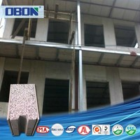 OBON low cost prefabricated eps cement board houses kits sip panels