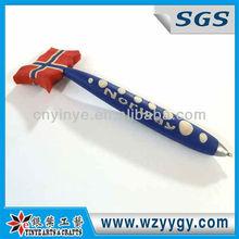 Soft pvc ball point pen