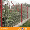 High Quality PVC Coated Triangle Curved Mesh Fence(ISO9001 Manufacturer)