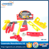 Wholesales Plastic Cheap Toy Tool Intelligent Educational Toys Hand Tool Toy for kids