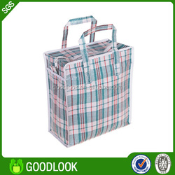 recycled lamination printed pp woven carry-on luggage GL140