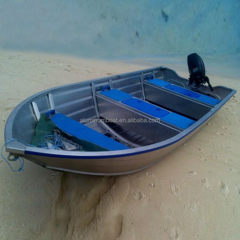 13ft 14ft aluminum boat 410 adventure all welded for Small aluminum fishing boats