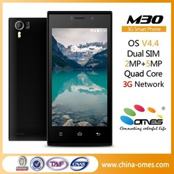 korean brand mobile phones M30 4.5 inch Quad Core 3G Android 4.4 import wholesale cellphone china