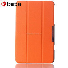 PU leather case for mini ipad case