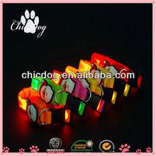 2014 hot product led flashing pet leash