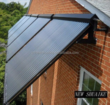 Solar Collector with Vacuum Tube,Heat Pipe and Manifold Installed on Roof