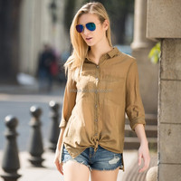 HJC-C8384 Wholesale Veri Gude New Arrival Spring Fashion Women's Casual Loose Blouse