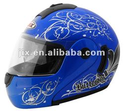 DOT/ECE 2015 Flip-up Helmet with double visor JX-A111-1