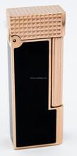 black&rose golden plating high end quality S.T.Dupont style gift lighter